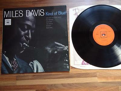 Miles Davis - Kind Of Blue 1960 UK LP CBS GORGEOUS COPY JAZZ