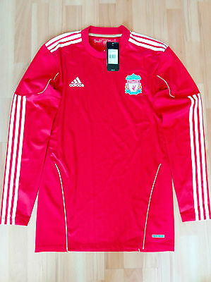 Liverpool 2010-2012 Home Techfit Player Issue Long Sleeve Shirt Bnwt Non Sponsor