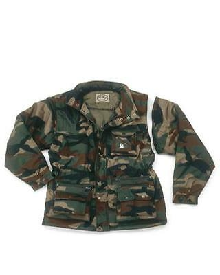 OUTDOOR/HUNTING EQUIPMENT  Padded Jacket Woodland - Detachable Sleev, Lined