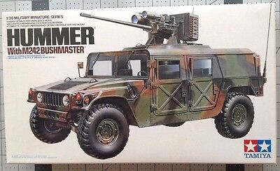 1/35 Tamiya Scale Kit Of The Hummer With Bushmaster