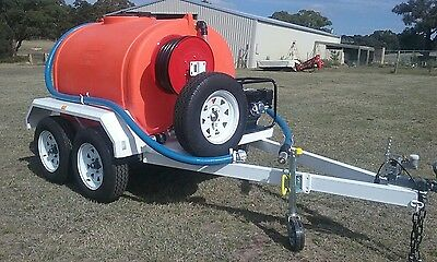 Fire trailer Water Cart. 1200 litres ON SPECIAL.