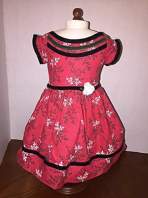 American Girl Cecile Special Dress