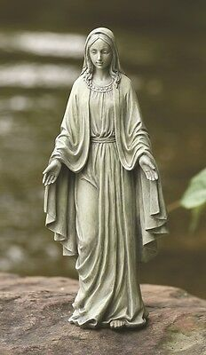 Our Lady of Grace Outdoor Religious Garden Statue