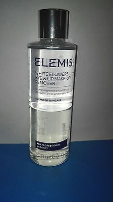 Elemis white flowers eye and lip make up remover