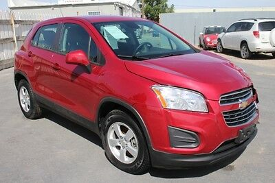 2015 Chevrolet Trax LS AWD 2015 Chevrolet Trax LS AWD Wrecked Clean Title Economical Spacious Priced toSell