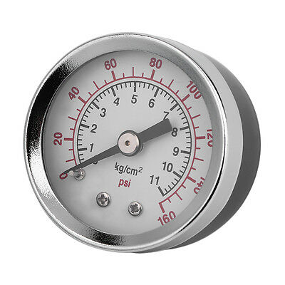 Vacuum Pressure Gauge Tester TS-40-160Psi 1.5 Inch Face Back Mount 1/8 Inch RS