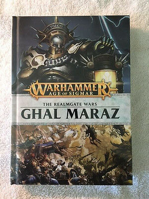 Warhammer Age of Sigmar Ghal Maraz novel BRAND NEW