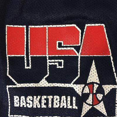 BASKETBALL SHORTS VTG 90s DREAM TEAM USA  XL CHAMPION POLYESTER EXTRA LARGE