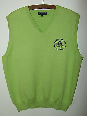 Lyle & Scott vest Size Large Longridge Golf Club & Preston Cycling Chest 40''42