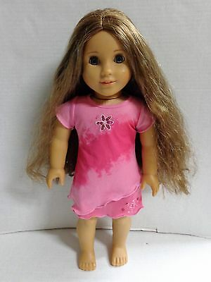 American Girl Marie Grace Doll Brown Hair Blue Eyes