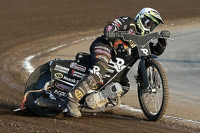 Wolverhampton Wolves---Mark Riss--2017--10X8--Speedway--Action Photo(2)