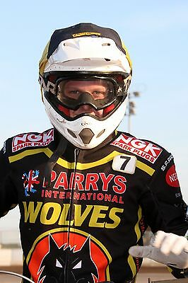 Wolverhampton Wolves--Nathan Greaves--2017--10X8--Speedway--Portrait Photo(2)