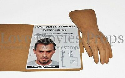 PRISON BREAK Screen Used Prop Prosthetic Hand T-bag Theodore Robert Knepper