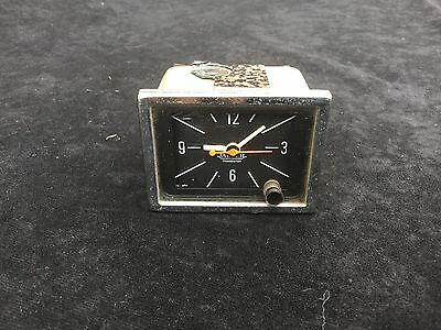 Vintage Jaeger Car Dashboard Rectangular Clock