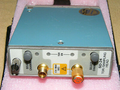 Tektronix Sd24 Tdr Digital Oscilloscope Sampling Head