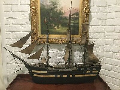 Circa 1820 Convict Built Sailing Ship 3 Masted