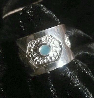 Ring  925 Sterling Silver Women/Man Heavy Handcrafted Taxco Mexico SALE