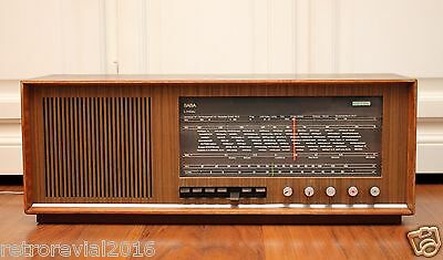 Rare! SABA Lindau 18 LI18 Automatic Vintage Tube Radio TOP Condition 1960s Grand