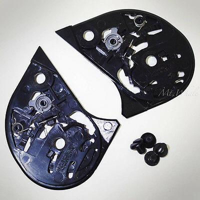 New HJC HJ-07 Shield, Visor Gear Plate Set for CL-14 CL-MAX FG-14 AC-11 Helmet