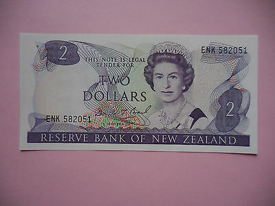 New Zeland . $ 2 , ND ( 1989 - 92 ) . P - 170c . Gem Uncirculated