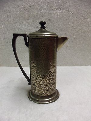 VINTAGE TABER & TIBBITS SILVER PLATED FRENCH COFFEE PRESS ca. 1920