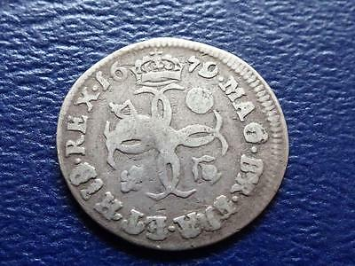 Charles Ii Maundy Fourpence 1679 4D Great Britain Uk