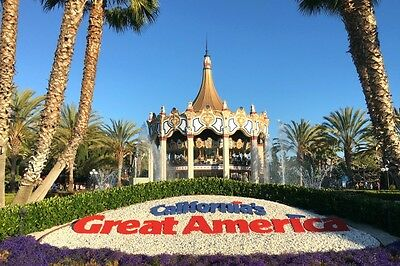 4 tickets to great america