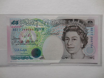 Great Britain . 5 Pounds 1991 . P - 382c . Gem Uncirculated