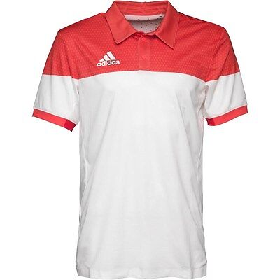 adidas short sleeve tennis polo designed using climachill™ technology