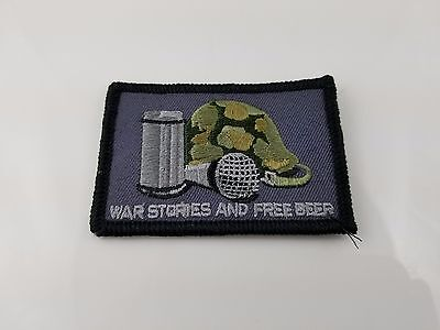 GORUCK Embroidered War Stories and Free Beer Patch