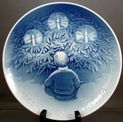 "1980 Bing & Grondahl Danish Yule Tree 9"" Collector Plate"