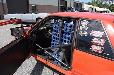 1989 Ford Mustang Notch Back Drag Race Car Roller