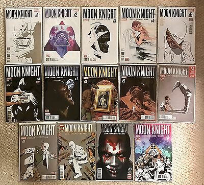 Moon Knight 2016 Marvel Comics # 1 - 14 Complete NM 1st Prints Jeff Lemire