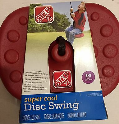 Step 2 Super Cool Disc Swing 7 Feet of Strong Weather Resistant Rope Age 3-8
