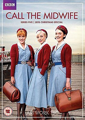 Call the Midwife series season 5 + 2015 Christmas Special DVD R4 BBC
