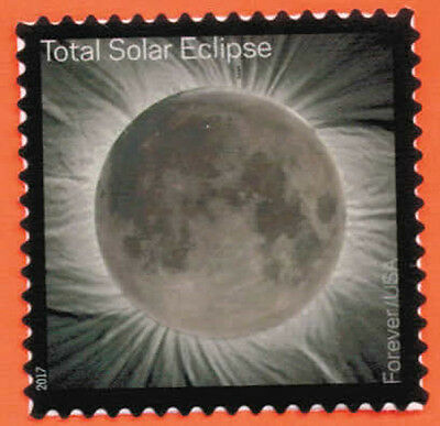 US Total Eclipse of the Sun Stamp, a SINGLE Stamp ~ 2017