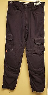 THRIVE Flame Resistant Tactical Cargo Knee Pad Work Pants FR 7820 Navy Blue
