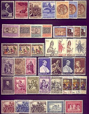 VATICAN: A BEAUTIFUL COLLECTION  of STAMPS:   A1 CONDITION   LOW  RESERVE