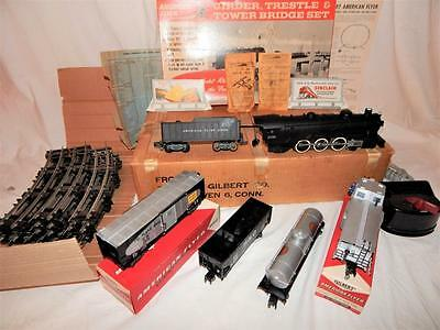 American Flyer SET 20157 Pacific Department Store Special w/ Girder Trestle 1958