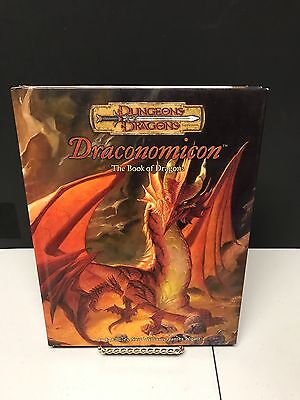 Draconomicon: The Book of Dragons (Dungeons & Dragons) Hardcover