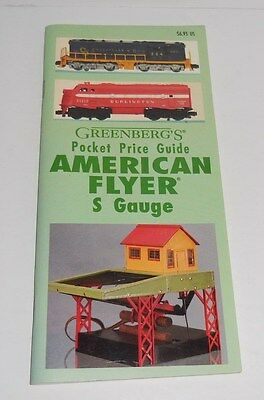 Greenberg's Price Guide To American Flyer S Gauge Pocket 9Th Edition 1992