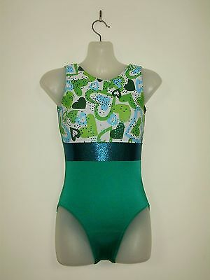 Gymnastics Leotards  D.S.Designs Girls size  8 and 10