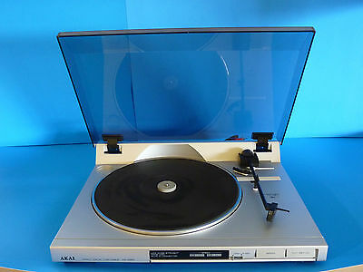 Vintage AKAI Direct Drive Stereo Turntable AP-A201 Made in Japan!  Works