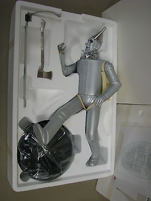 NRFB Timeless Treasures Wizard of Oz porcelain TIN MAN doll Mattel