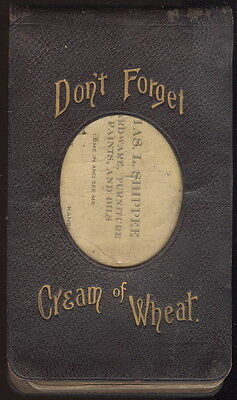 1918 Order Book, Cream Of Wheat Advertising, C L Shippee, Kansas City, Mo.