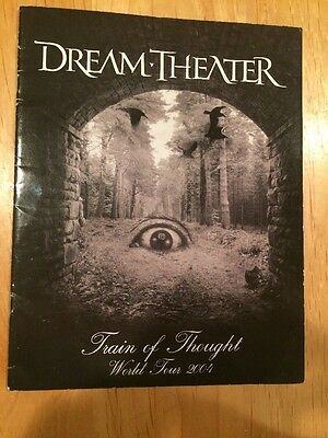 Dream Theater Train Of Thought World Tour 2004 Tour Book james labrie lte