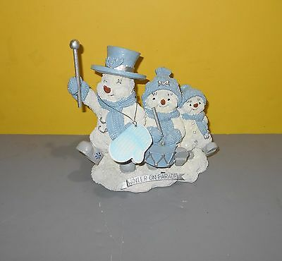 2000 Enesco Snow Buddies #94160 Winter On Parade w/ Paper Tag