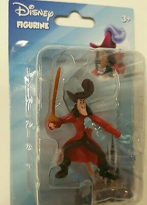 Captain Hook mini figurine Peter Pan Disney Villain