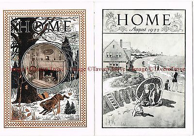 Lot of TWO Home Catalogs 1922 & 1923 Peoples House Furnishing High Point NC