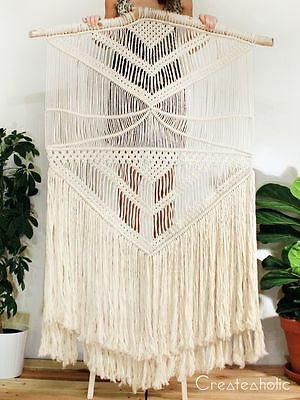 Set Your Own Greatest 100% Cotton Macrame Wall Hanging